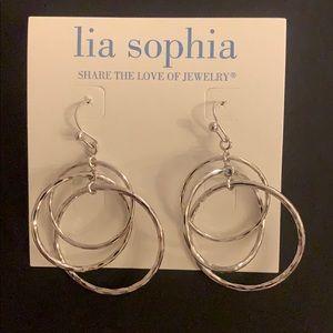 Lia Sophia Orbit earrings